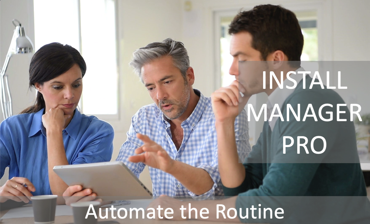 Automate Routine video title slide