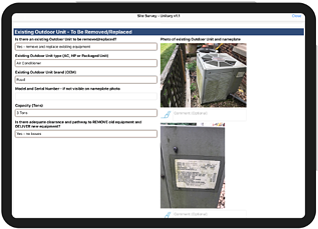 Site Survey iPad